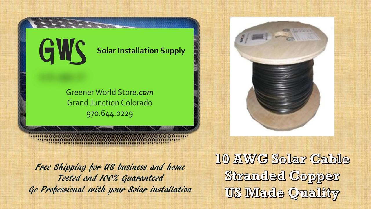 Bulk solar cable 1000 feet 10awg made in usa highest quality pv 1000 feet 10awg bulk solar cable usa made greenerworldstore solar supply solutioingenieria Images