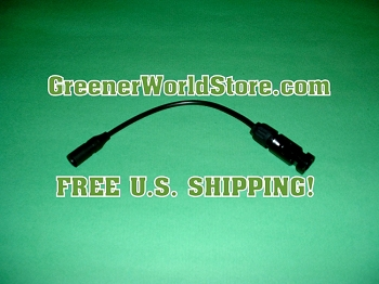 M3 to M4 Adapter Solar Connection Wire - Greener World Store