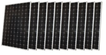 MULTIPLE (2-3) CANADIAN SOLAR: 265W MODULES - BLACK FRAME, BOW (CS6P-265P)