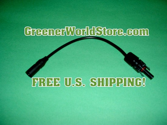 M3 to F4 Adapter Solar Connection Wire - Greener World Store