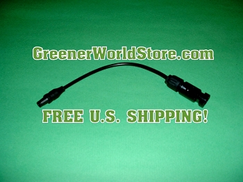 F3 to M4 Adapter Solar Connection Wire - Greener World Store