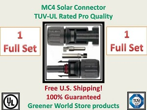 MC4 Solar Panel Cable Wiring Connector - Greener World Store