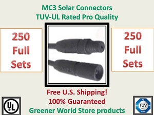 MC3 Solar Panel Cable Connector