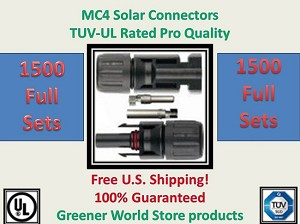 MC4 Solar Cable Connector - Greener World Store