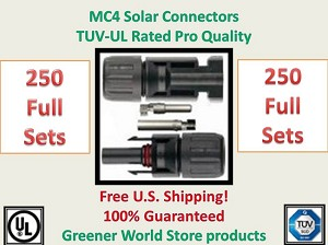 MC4 Solar Connector Wiring End - Greener World Store