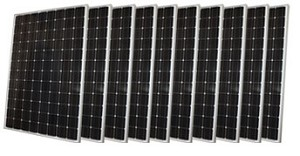 BULK (4+) PANASONIC, 325W PV MODULES, MC4, PV WIRE, 35MM BLACK